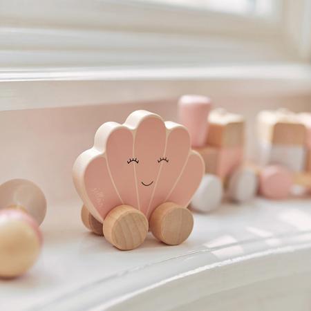 Immagine di Jollein® Giocattolo in legno Car Shell Pink
