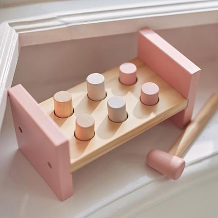 Immagine di Jollein® giocattolo di legno Martello Pink
