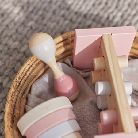 Immagine di Jollein® Sonaglio di legno Maracas