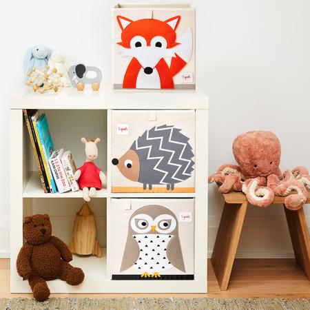 3Sprouts® Contenitore giocattoli Fox