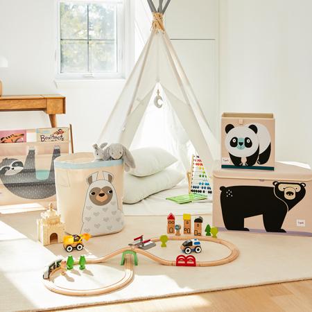 3Sprouts® Contenitore giocattoli Panda