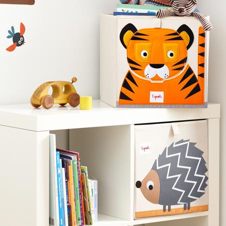 3Sprouts® Contenitore giocattoli Tigre