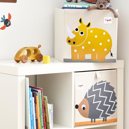 3Sprouts® Contenitore giocattoli Rinoceronte