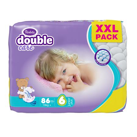Immagine di Violeta®  Pannolini Air Dry XXL 6 Junior+ (16 kg+) 86/1