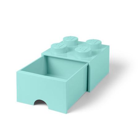 Immagine di Lego® Contenitore Cassetto Aqua