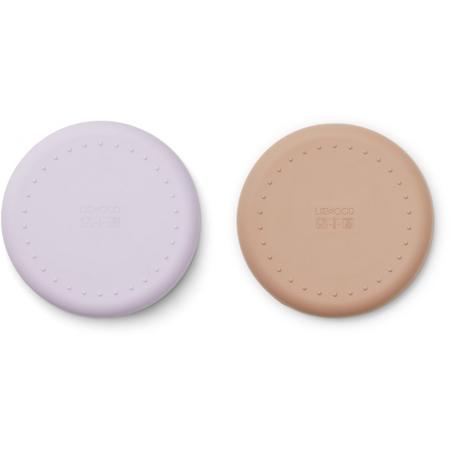Immagine di Liewood® Set di piatti in silicone Gordon Cat light Lavender Rose Mix