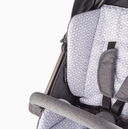 Twistshake® Materassino per passeggino + sacca invernale per i piedi  Grey