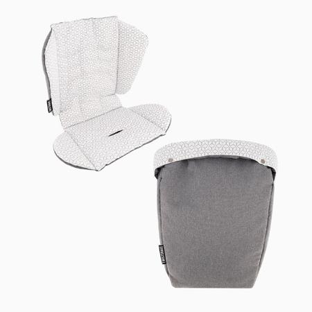 Immagine di Twistshake® Materassino per passeggino + sacca invernale per i piedi  Grey