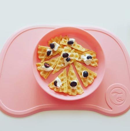 Twistshake® Tovaglia con piatto Click Mini Pastel Pink