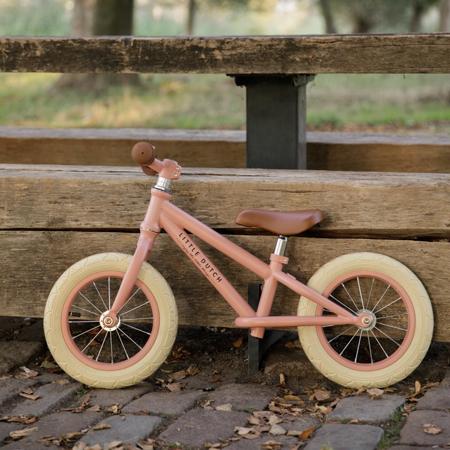 Little Dutch® Bici senza pedali Matt Pink (3-5 anni)