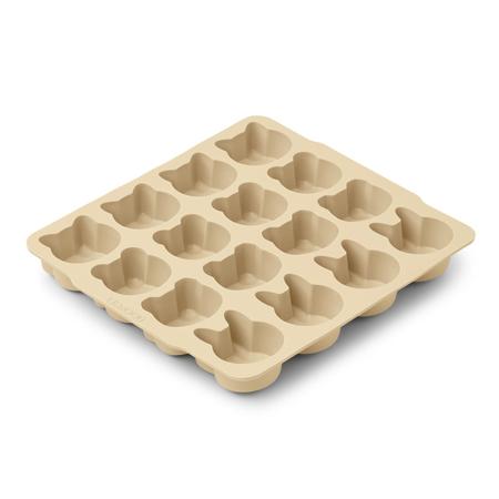 Liewood® Modelli per il ghiaccio in silicone Sonny Wheat Yellow Sandy Mix 2 pezzi