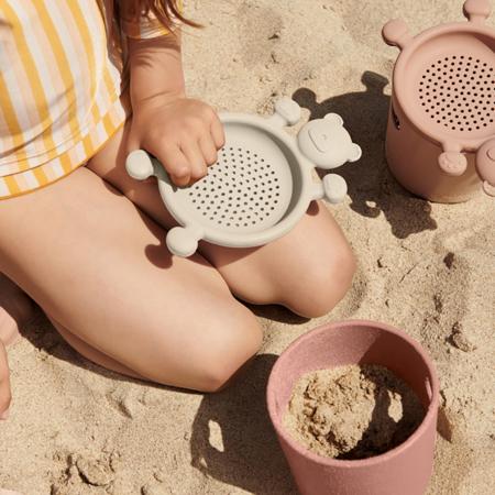 Liewood® Mini set da gioco per la spiaggia Bastian Dark Rose Mix