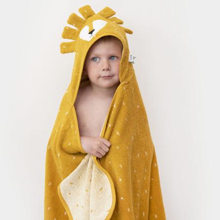 Immagine di Trixie Baby® Asciugamano con cappuccio 75x75 Mr. Lion