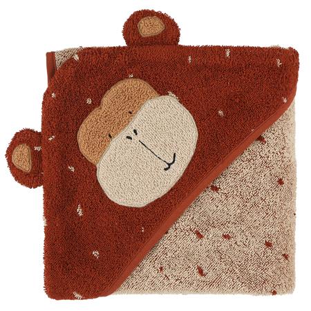 Immagine di Trixie Baby® Asciugamano con cappuccio 75x75 Mr. Monkey