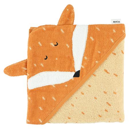 Immagine di Trixie Baby® Asciugamano con cappuccio 75x75 Mr. Fox
