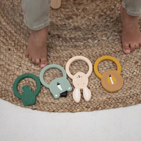 Immagine di Trixie Baby® Massaggiagengive rotondo Mrs. Rabbit