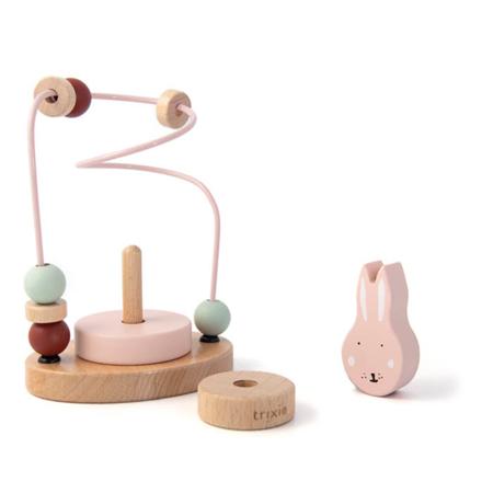 Trixie Baby® Labirinto di legno Mrs. Rabbit