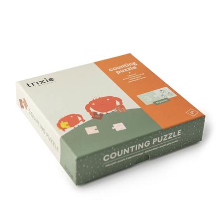 Trixie Baby® Puzzle con numeri