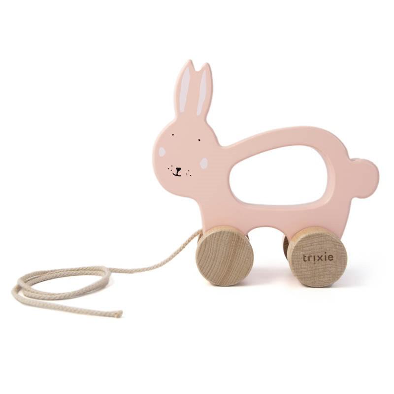Immagine di Trixie Baby® Gioco in legno Mrs. Rabbit