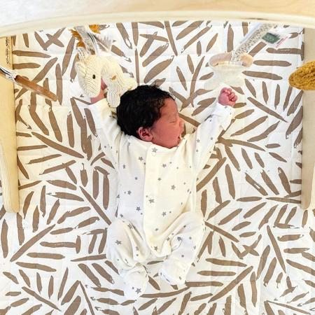 Immagine di Toddlekind® Tappeto gioco in cotone Tan