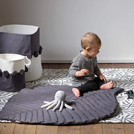 Toddlekind® Tappeto gioco in cotone Anchor Leaf Anchor