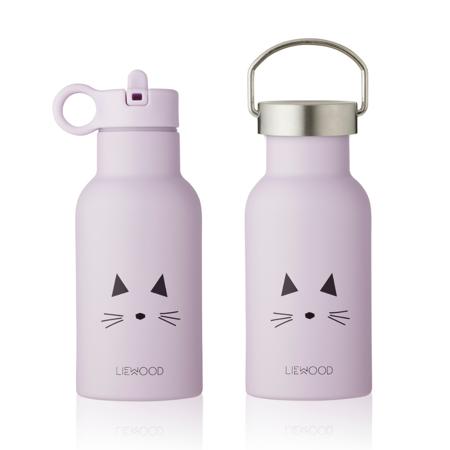 Immagine di Liewood® Bottiglia in acciaio inossidabile Anker Cat Light Lavander  350ml