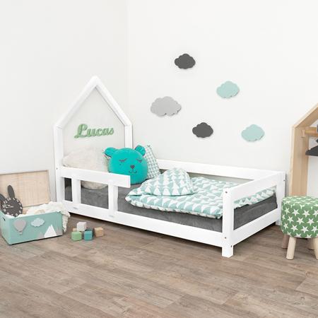 Immagine di Benlemi® Letto per bambini Poppi 200x90 White