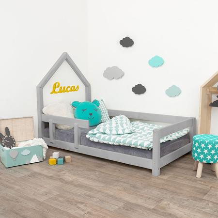 Immagine di Benlemi® Letto per bambini Poppi 200x90 Grey
