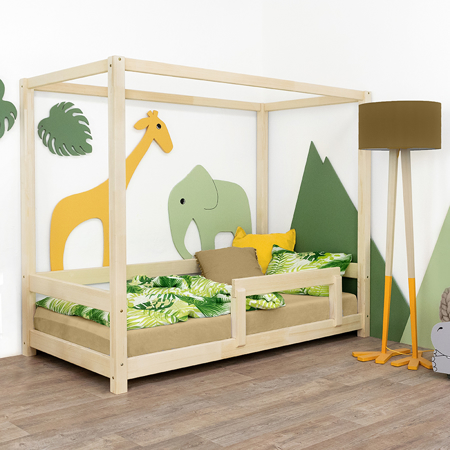 Immagine di Benlemi® Letto per bambini Bunky 200x90 Natural