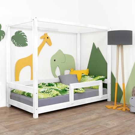 Immagine di Benlemi® Letto per bambini Bunky 200x90 White