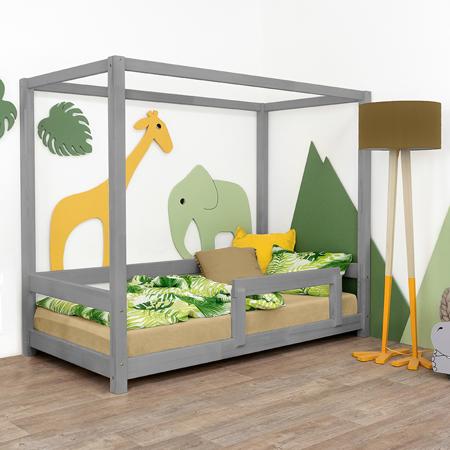 Immagine di Benlemi® Letto per bambini Bunky 200x90 Grey