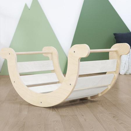 Immagine di Benlemi® Altalena per l'equilibrio Montessori Yupee White