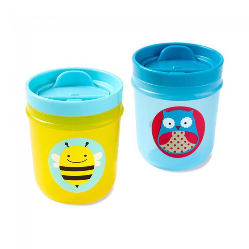 Immagine di Skip Hop®Skip Hop - Set di 2 bicchierie Guffo/ape