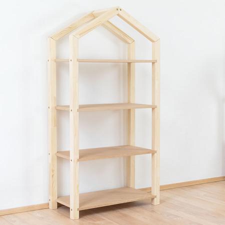 Benlemi® Libreria in legno Tally