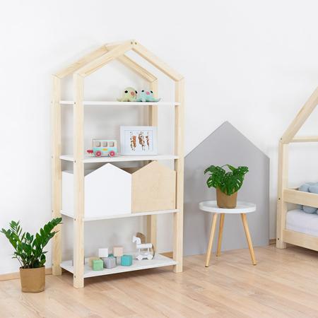 Immagine di Benlemi® Libreria in legno Tally