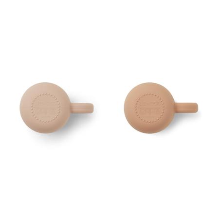 Immagine di Liewood® 2 tazzine in silicone Merce Rose Mix
