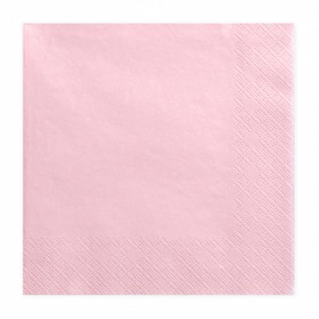 Immagine di Party Deco® Tovaglioli Light Pink 20 pezzi