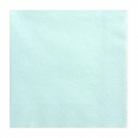 Immagine di Party Deco® Tovaglioli  Pale Turquoise 20 pezzi