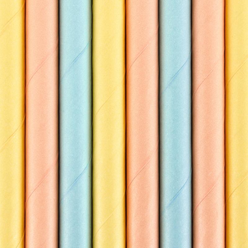 Immagine di Party Deco®  Cannucce in carta Summer Time 10 pz