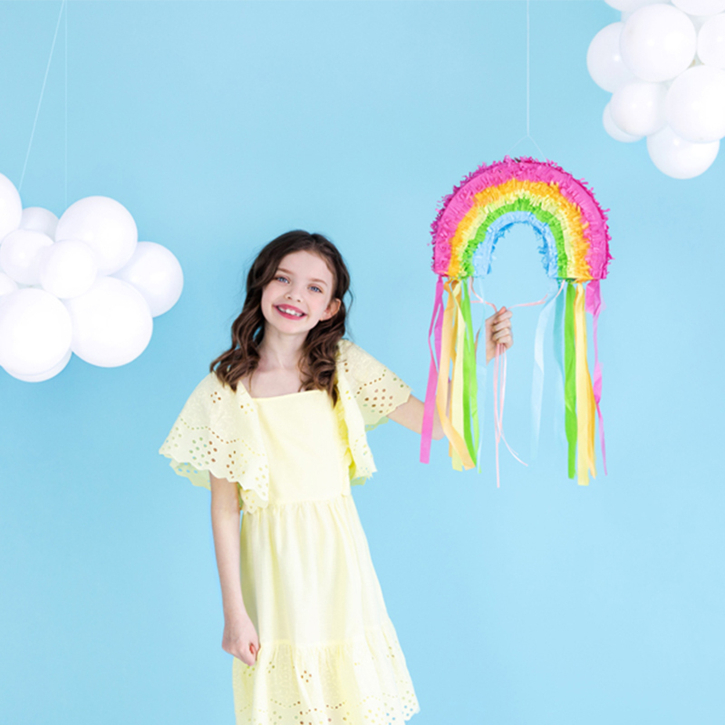 Immagine di Party Deco® Pignatta Arcobaleno