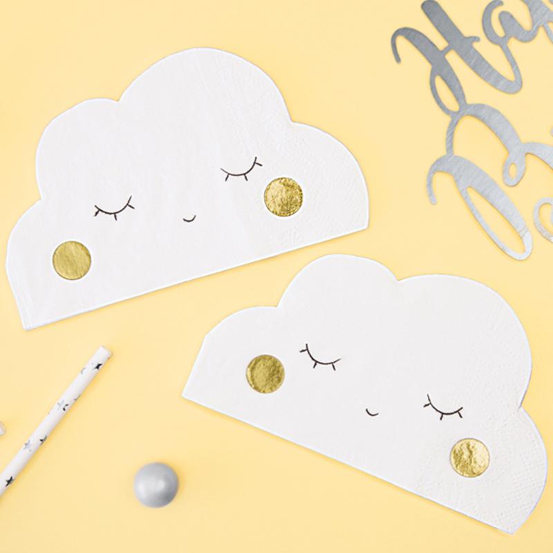 Immagine di Party Deco® Tovaglioli Nuvoletta 20 pz
