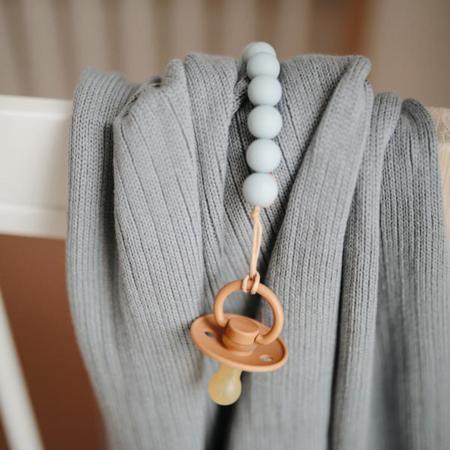 Immagine di Frigg® Ciuccio in gomma naturale Classic Silver Gray