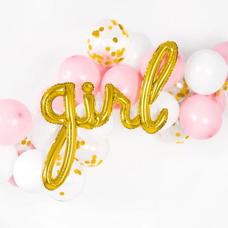 Immagine di Party Deco® Palloncino Girl Gold