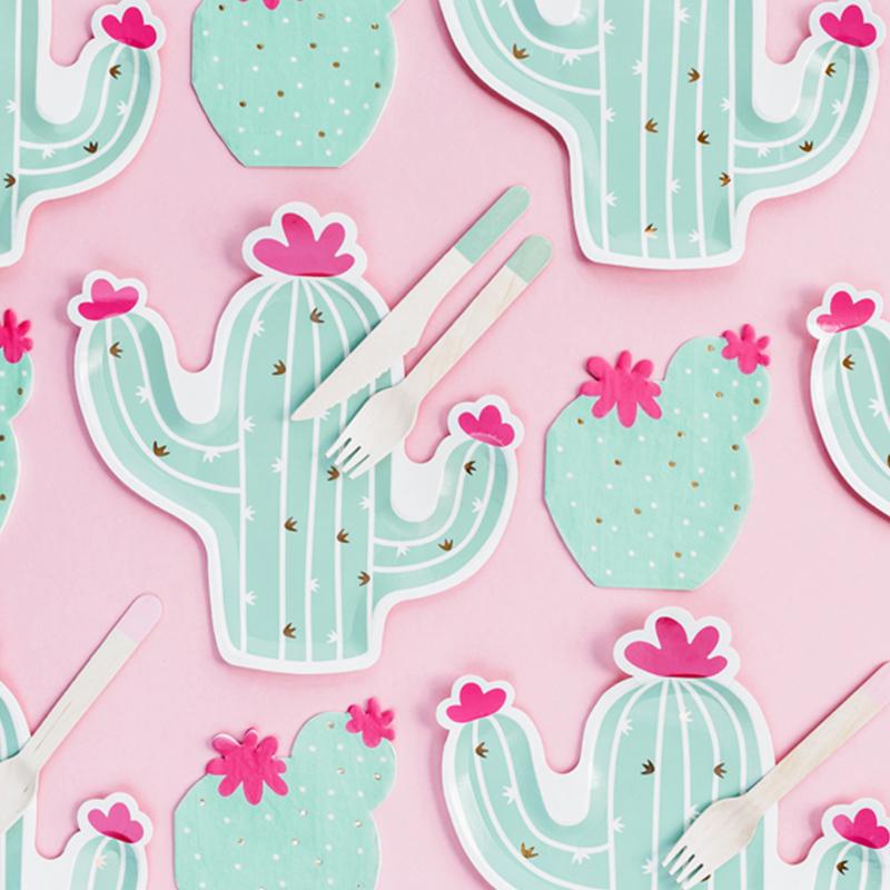 Immagine di Party Deco® Tovaglioli Cactus 20 pz