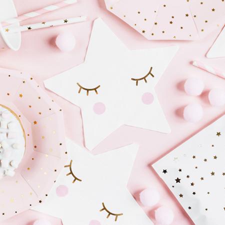 Immagine di Party Deco® Tovaglioli piccola stellina 20 pz