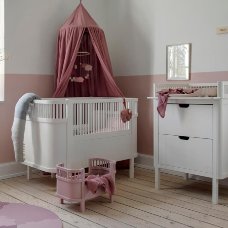 Immagine di Sebra® Lettino per bambole Blossom Pink