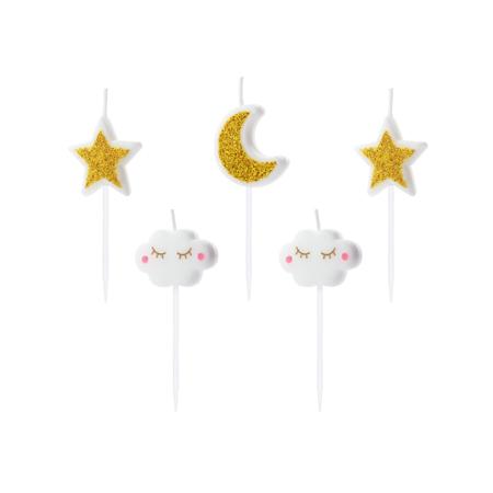 Immagine di Party Deco® Candeline Piccola stellina 6 pz