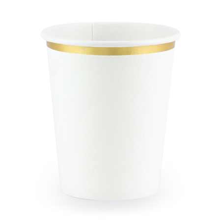 Immagine di Party Deco® Bicchieri White 260ml