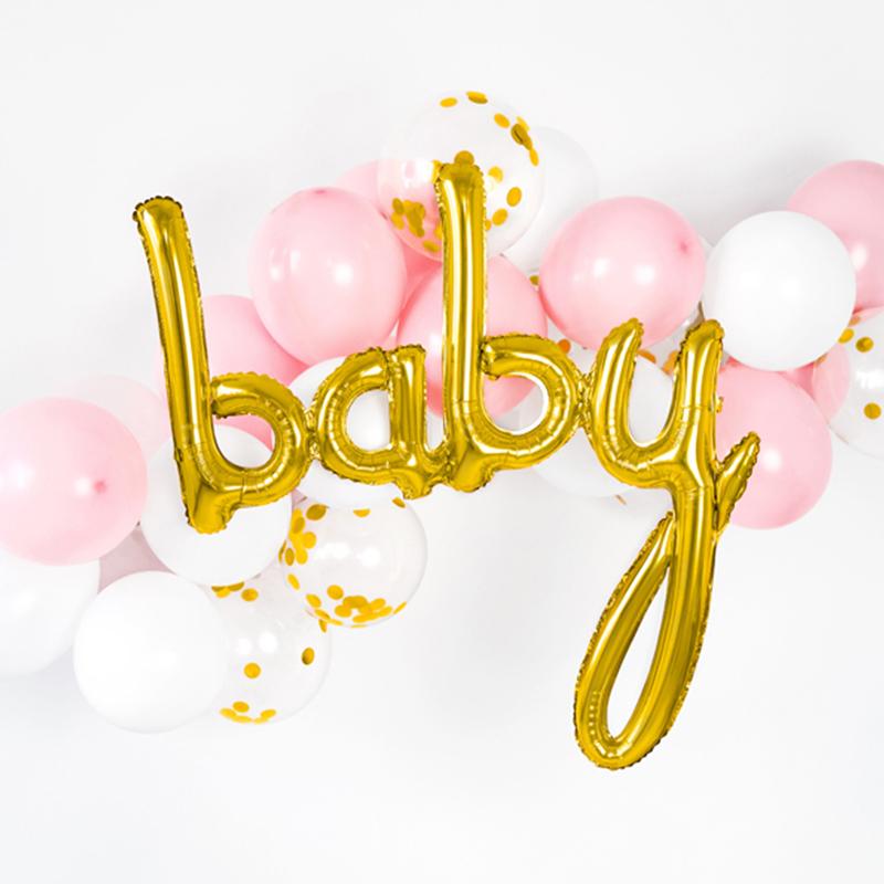 Immagine di Party Deco® Palloncino Baby  Gold