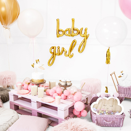 Party Deco® Palloncino Baby  Gold